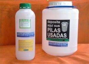 Envase Eco Pila 1L. ECO VOLTA