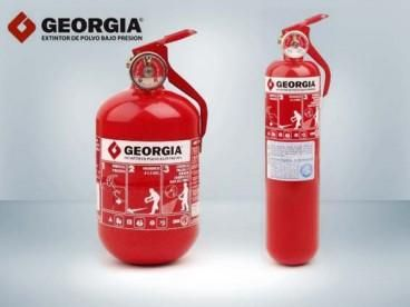 Matafuego Polvo ABC x 1 kg c/soporte GEORGIA