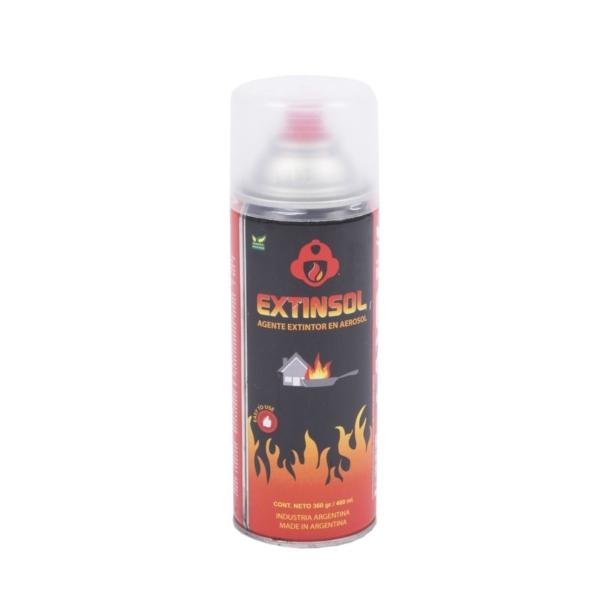 agente extintor en aerosol