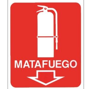 cartel matafuegos