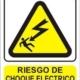 cartel riesgo electrico